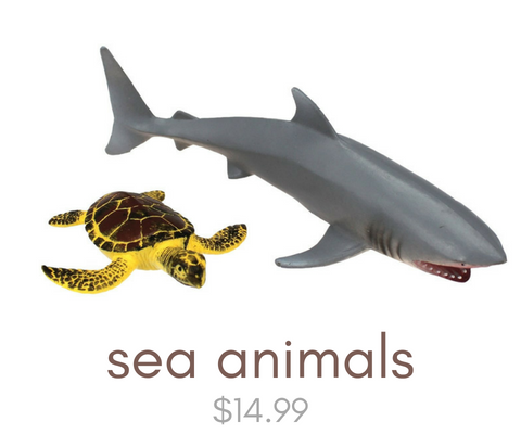 Click here to view our sea animal toys
