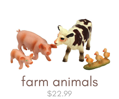 Click here to view our farm animal toys
