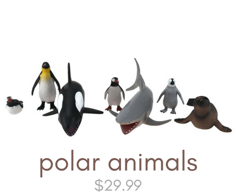 Click here to view our polar animal toys