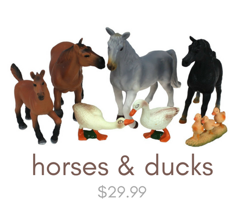 Click here to view our horse toys