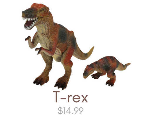 Click here to view our T-Rex toys